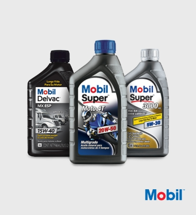 Lubricantes mobil